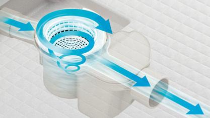 お風呂 浴室 LIXIL アライズ Zタイプ 戸建て 排水口 くるりんポイ排水口