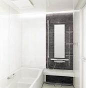 浴室 お風呂 タカラスタンダード ミーナ 壁パネル SD ダークグレーストライプ