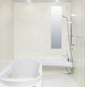 浴室 お風呂 LIXIL スパージュ CZタイプ 戸建て 壁パネル HGフラワー