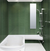 浴室 お風呂 LIXIL スパージュ CZタイプ 戸建て 壁パネル HGストライプ