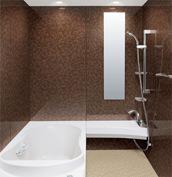 浴室 お風呂 LIXIL スパージュ CZタイプ 戸建て 壁パネル HGウェーブ