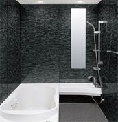 浴室 お風呂 LIXIL スパージュ CZタイプ 戸建て 壁パネル ストーンモザイクダーク