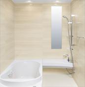 浴室 お風呂 LIXIL スパージュ CZタイプ 戸建て 壁パネル ウッドグレインライト