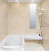 浴室 お風呂 LIXIL スパージュ CZタイプ 戸建て 壁パネル ボテチーノベージュ