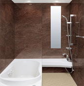 浴室 お風呂 LIXIL スパージュ CZタイプ 戸建て 壁パネル テオブロストーン