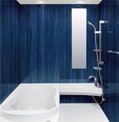 浴室 お風呂 LIXIL スパージュ CZタイプ 戸建て 壁パネル プルシャンブルー