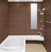 浴室 お風呂 LIXIL スパージュ CZタイプ 戸建て 壁パネル クリエモカ