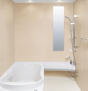 浴室 お風呂 LIXIL スパージュ CZタイプ 戸建て 壁パネル シャインベージュ