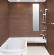 浴室 お風呂 LIXIL スパージュ CZタイプ 戸建て 壁パネル シャインブラウン