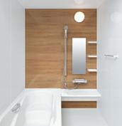 お風呂 浴室 LIXIL アライズ Zタイプ 戸建て 壁パネル チェリー