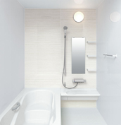 お風呂 浴室 LIXIL アライズ Zタイプ 戸建て 壁パネル シャインウッドホワイト