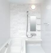 お風呂 浴室 LIXIL アライズ Zタイプ 戸建て 壁パネル 組石ホワイト