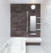 お風呂 浴室 LIXIL アライズ Zタイプ 戸建て 壁パネル 組石グレー