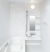 お風呂 浴室 LIXIL アライズ Zタイプ 戸建て 壁パネル ホワイトストーン
