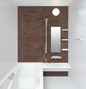 お風呂 浴室 LIXIL アライズ Zタイプ 戸建て 壁パネル テオブロストーン