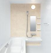お風呂 浴室 LIXIL アライズ Zタイプ 戸建て 壁パネル ボテチーノベージュ