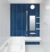 お風呂 浴室 LIXIL アライズ Zタイプ 戸建て 壁パネル プルシャンブルー