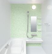 お風呂 浴室 LIXIL アライズ Zタイプ 戸建て 壁パネル グリーンリーフ