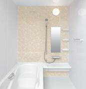 お風呂 浴室 LIXIL アライズ Zタイプ 戸建て 壁パネル エレガントモザイク