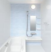 お風呂 浴室 LIXIL アライズ Zタイプ 戸建て 壁パネル アクアブルー