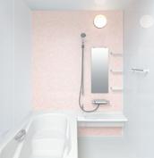 お風呂 浴室 LIXIL アライズ Zタイプ 戸建て 壁パネル フラワーシーン