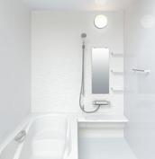 お風呂 浴室 LIXIL アライズ Zタイプ 戸建て 壁パネル ウェーブホワイト