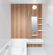 お風呂 浴室 LIXIL アライズ Zタイプ 戸建て 壁パネル オンダガタライト