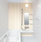 お風呂 浴室 LIXIL アライズ Zタイプ 戸建て 壁パネル  オンダガタライトペール
