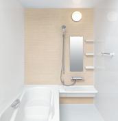 お風呂 浴室 LIXIL アライズ Zタイプ 戸建て 壁パネル シャインベージュ