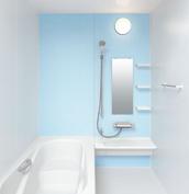 お風呂 浴室 LIXIL アライズ Zタイプ 戸建て 壁パネル ブルー
