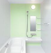 お風呂 浴室 LIXIL アライズ Zタイプ 戸建て 壁パネル グリーン