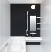 お風呂 浴室 LIXIL アライズ Zタイプ 戸建て 壁パネル ブラック