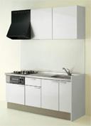 キッチン I型 クリナップ コルティ テーブルコンロタイプ Sシリーズ 扉カラー Y9W ミルクホワイト