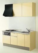 キッチン I型 クリナップ コルティ テーブルコンロタイプ Sシリーズ 扉カラー Y9Y ミルクイエロー