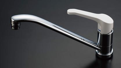 キッチン I型 クリナップ コルティ テーブルコンロタイプ Sシリーズ 水栓 シングルレバー水栓