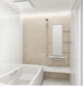 浴室 お風呂 タカラスタンダード プレデンシア 壁パネル YG ウォルナットグレージュ