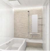 浴室 お風呂 タカラスタンダード プレデンシア 壁パネル HI ブリックベージュ