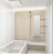 浴室 お風呂 タカラスタンダード プレデンシア 壁パネル YU ベージュウェーブ