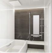 浴室 お風呂 タカラスタンダード プレデンシア 壁パネル YB ウッドブラウン