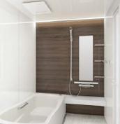浴室 お風呂 タカラスタンダード プレデンシア 壁パネル JNB ウォルナットブラウン