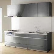 キッチン クリナップ STEDIA ステディア 基本プラン 扉カラー ボーテシルバー