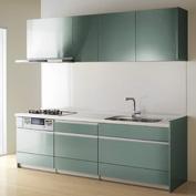 キッチン クリナップ STEDIA ステディア 基本プラン 扉カラー ボーテアクア