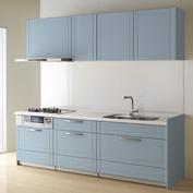 キッチン クリナップ STEDIA ステディア 基本プラン 扉カラー ブルードゥパリ