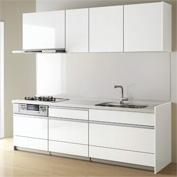 キッチン クリナップ STEDIA ステディア 基本プラン 扉カラー ルナホワイト