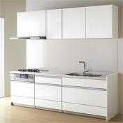 キッチン クリナップ STEDIA ステディア 基本プラン 扉カラー クリスタホワイト