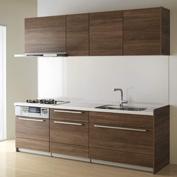 キッチン クリナップ STEDIA ステディア 基本プラン 扉カラー ウォールナットビター