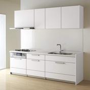 キッチン クリナップ STEDIA ステディア 基本プラン 扉カラー スエードホワイト