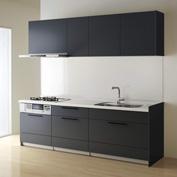キッチン クリナップ STEDIA ステディア 基本プラン 扉カラー スエードチャコール