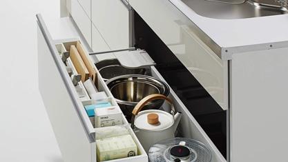 キッチン クリナップ STEDIA ステディア 基本プラン シンクキャビネット(ツールポケット付)