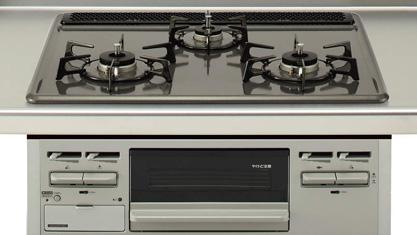 キッチン クリナップ STEDIA ステディア 基本プラン  加熱機器 ホーロートップコンロ